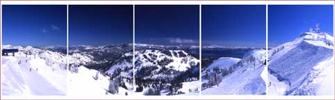 Alpine Bowl View, Alpine Meadows