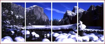 Mid Winter Yosemite Valley